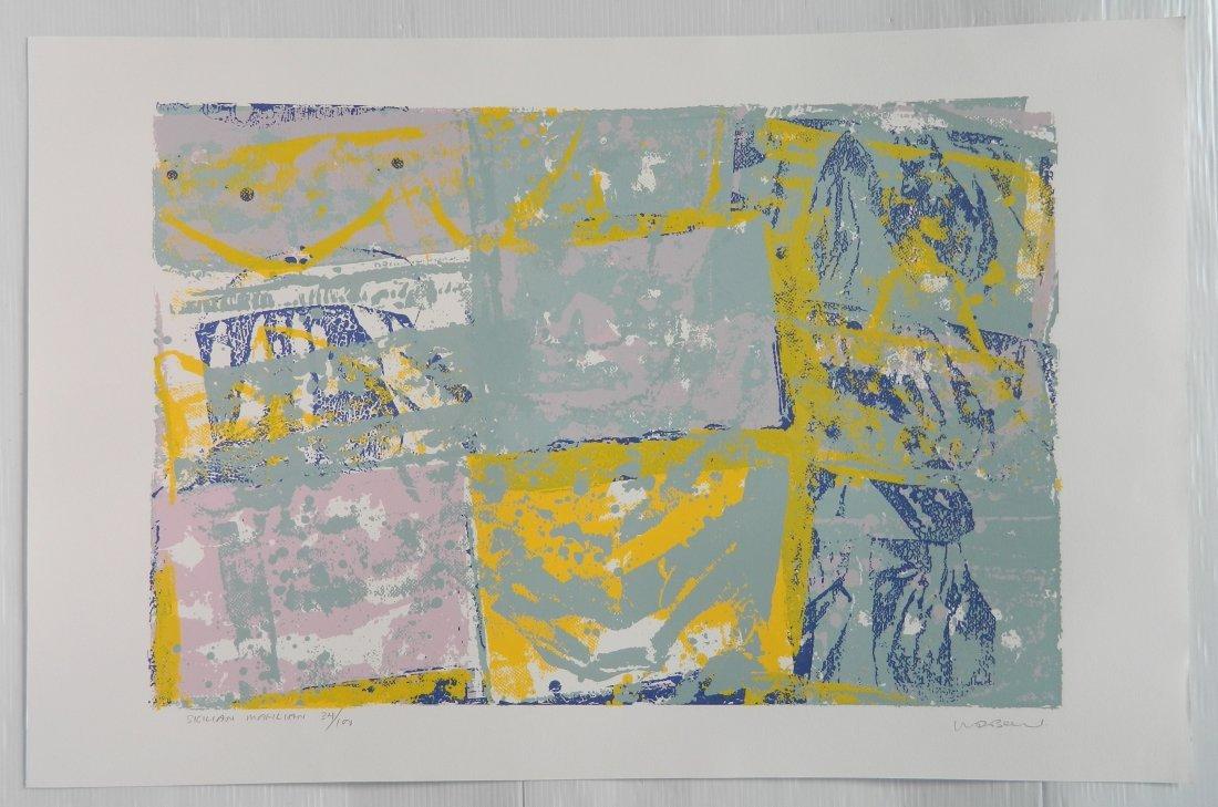 Walter Darby Bannard 4 silkscreens - 6
