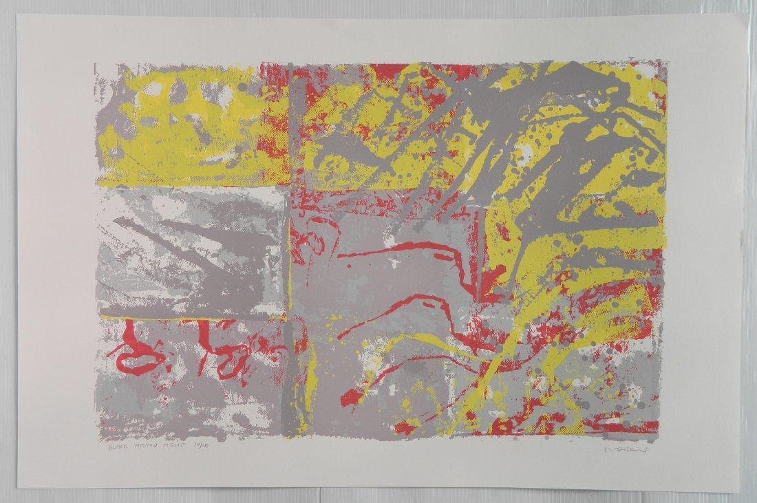 Walter Darby Bannard 4 silkscreens - 7
