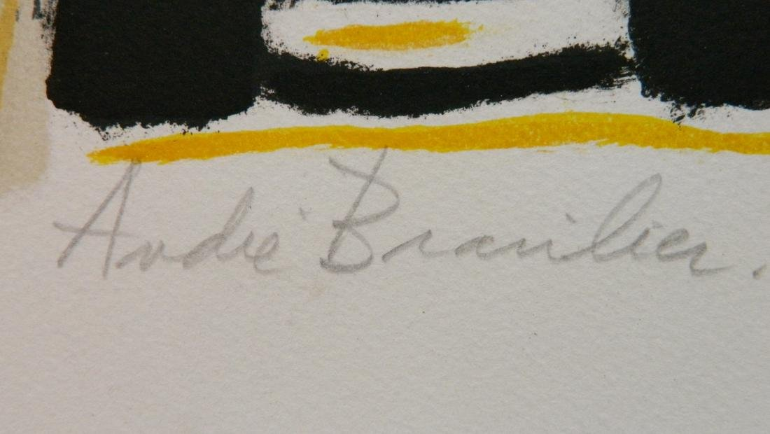 Andre Brasilier lithograph - 3
