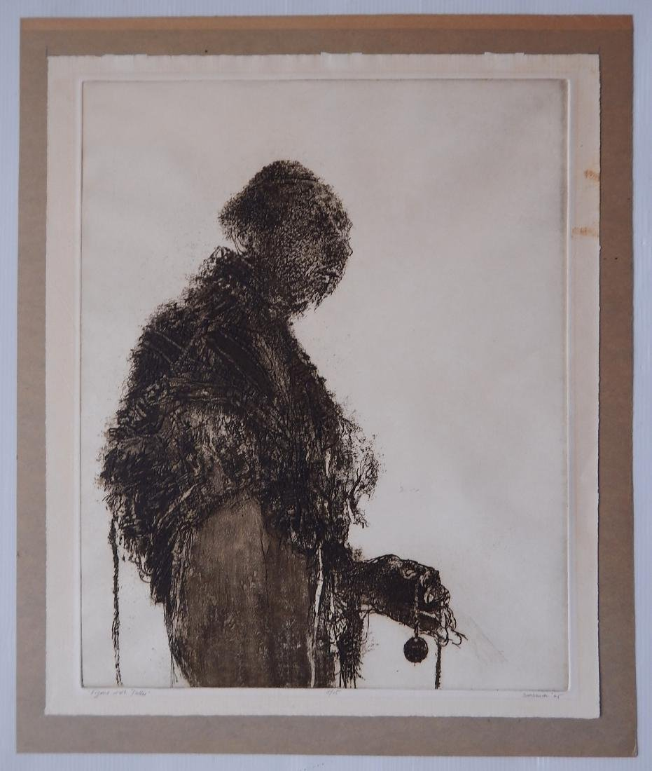 Harvey Breverman etching and aquatint - 2