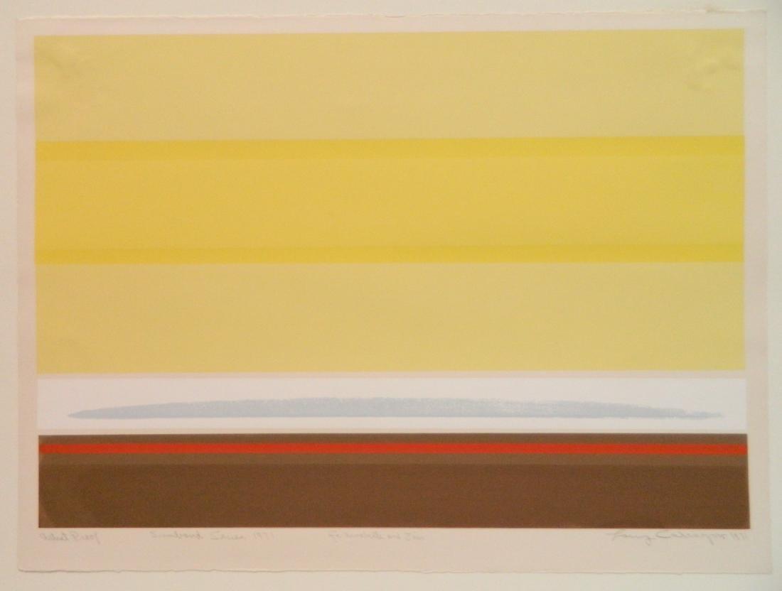 Lawrence Calcagno silkscreen - 2
