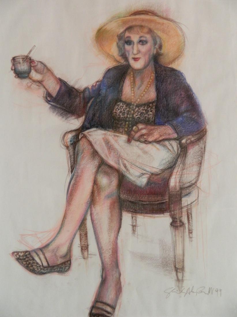 Shirley A. Campbell mixed media