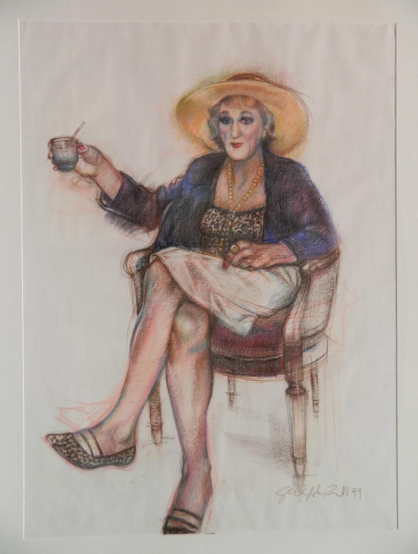 Shirley A. Campbell mixed media - 2
