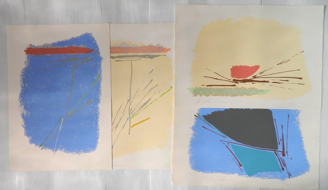 Dan Christensen 4 silkscreens