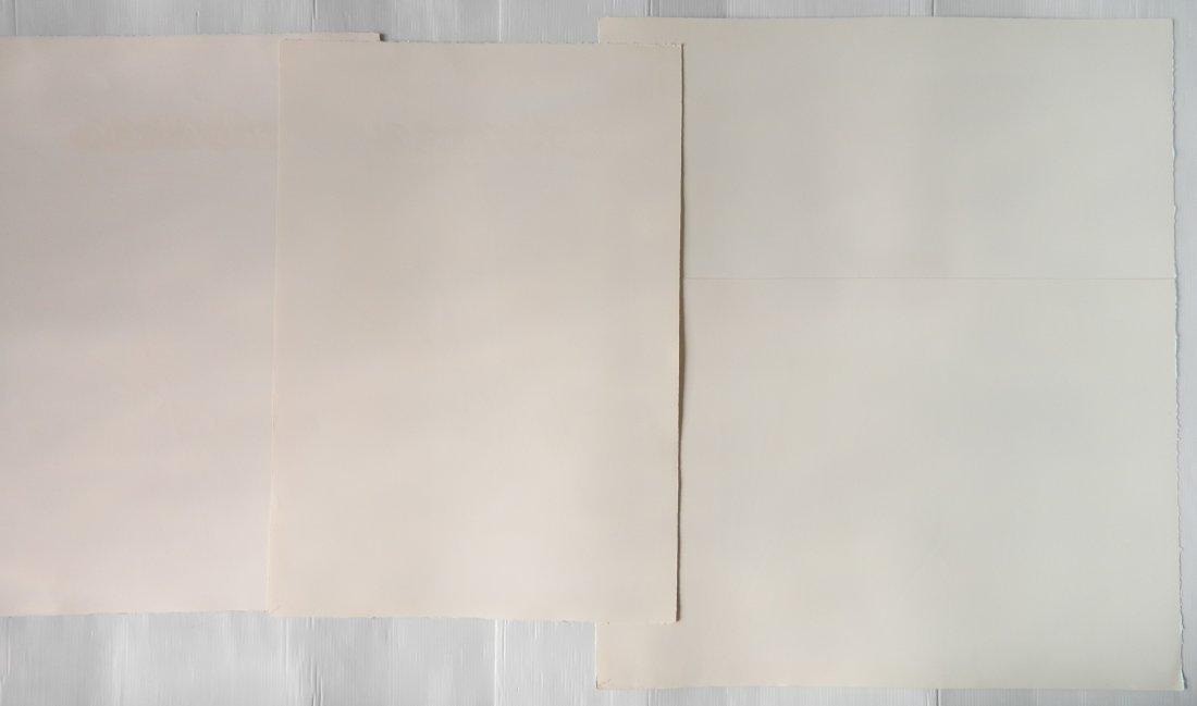 Dan Christensen 4 silkscreens - 2