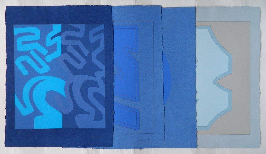 Chryssa 4 silkscreens