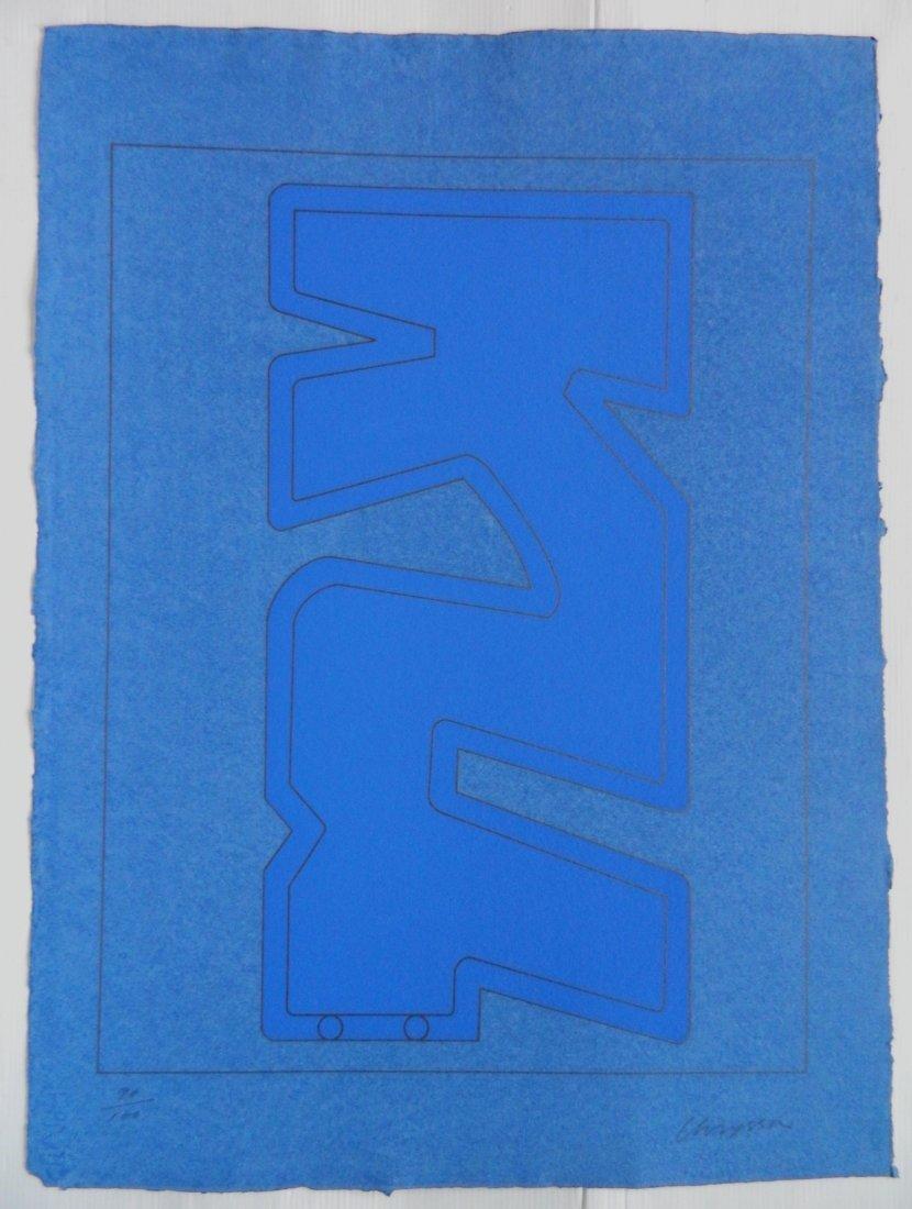 Chryssa 4 silkscreens - 7