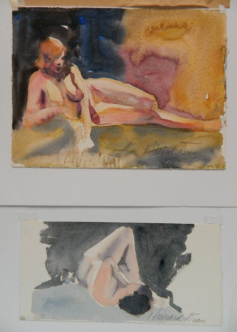 Hilliard Dean 9 watercolors - 2