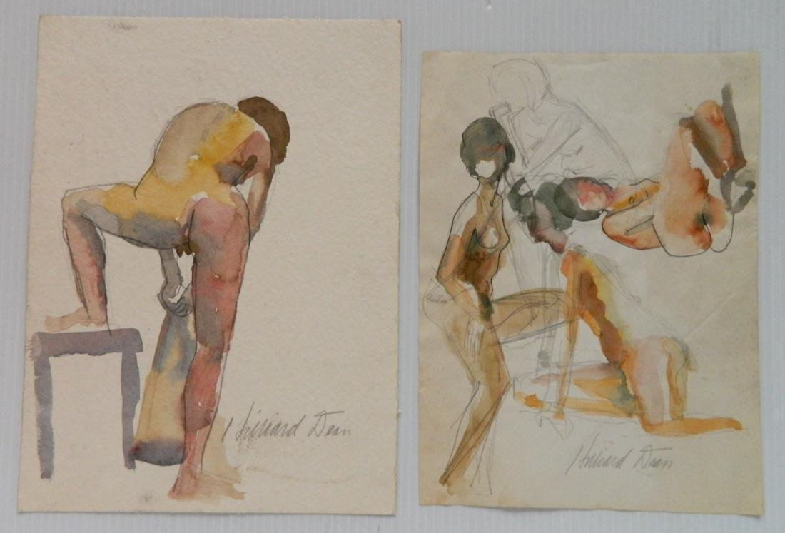 Hilliard Dean 9 watercolors - 3