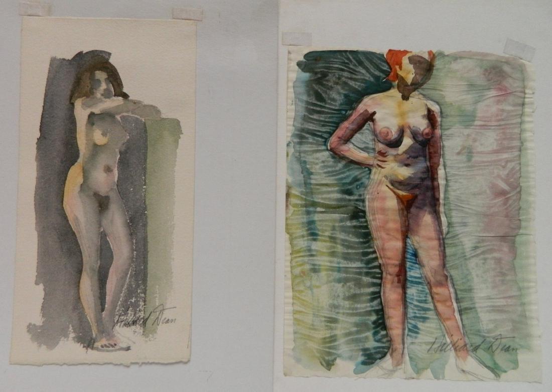 Hilliard Dean 9 watercolors - 5