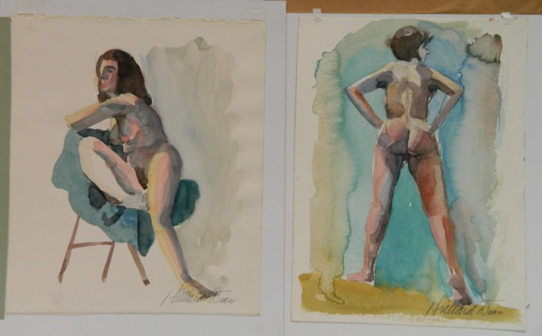 Hilliard Dean 9 watercolors - 6