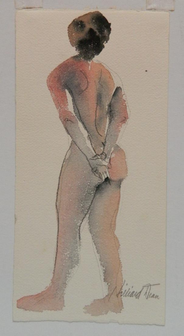 Hilliard Dean 9 watercolors - 7