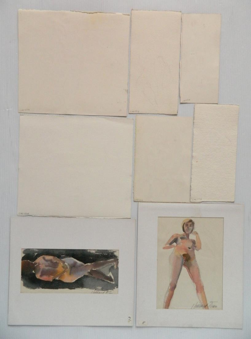 Hilliard Dean 8 watercolors - 2