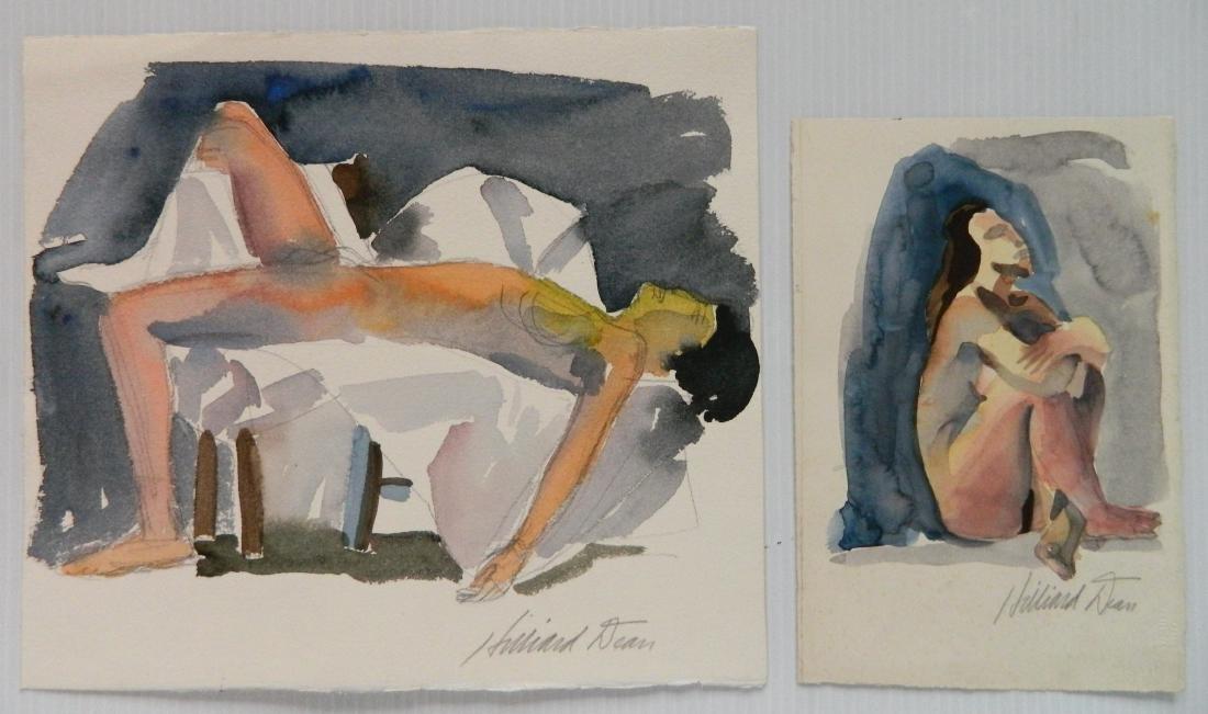 Hilliard Dean 8 watercolors - 3