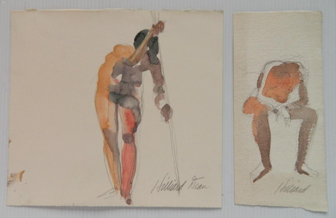 Hilliard Dean 8 watercolors - 4