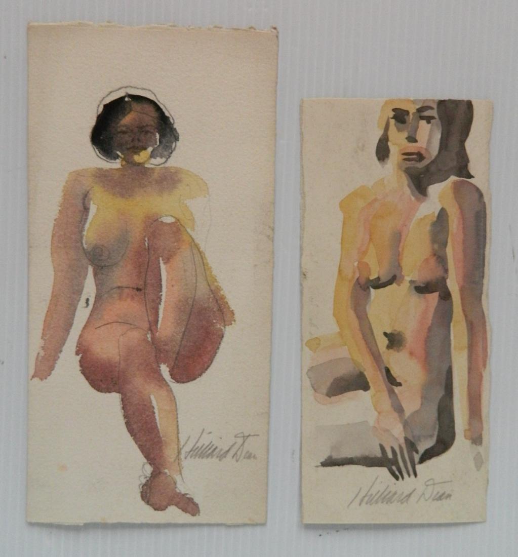 Hilliard Dean 8 watercolors - 5