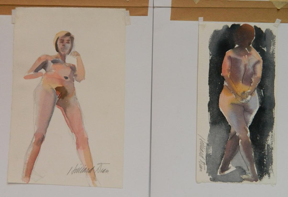 Hilliard Dean 8 watercolors - 7