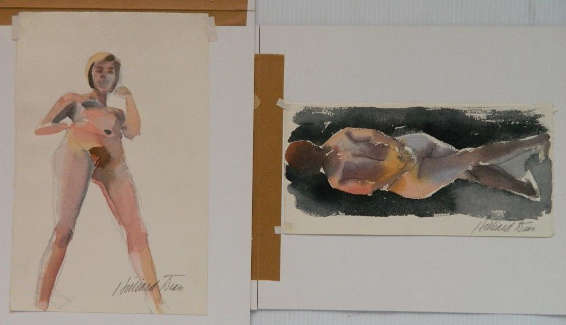 Hilliard Dean 8 watercolors - 8