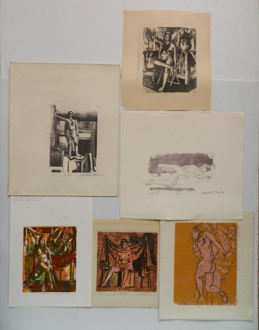 Hilliard Dean 4 lithographs and 2 woodcuts