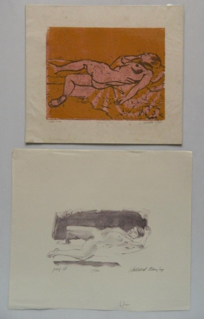 Hilliard Dean 4 lithographs and 2 woodcuts - 5