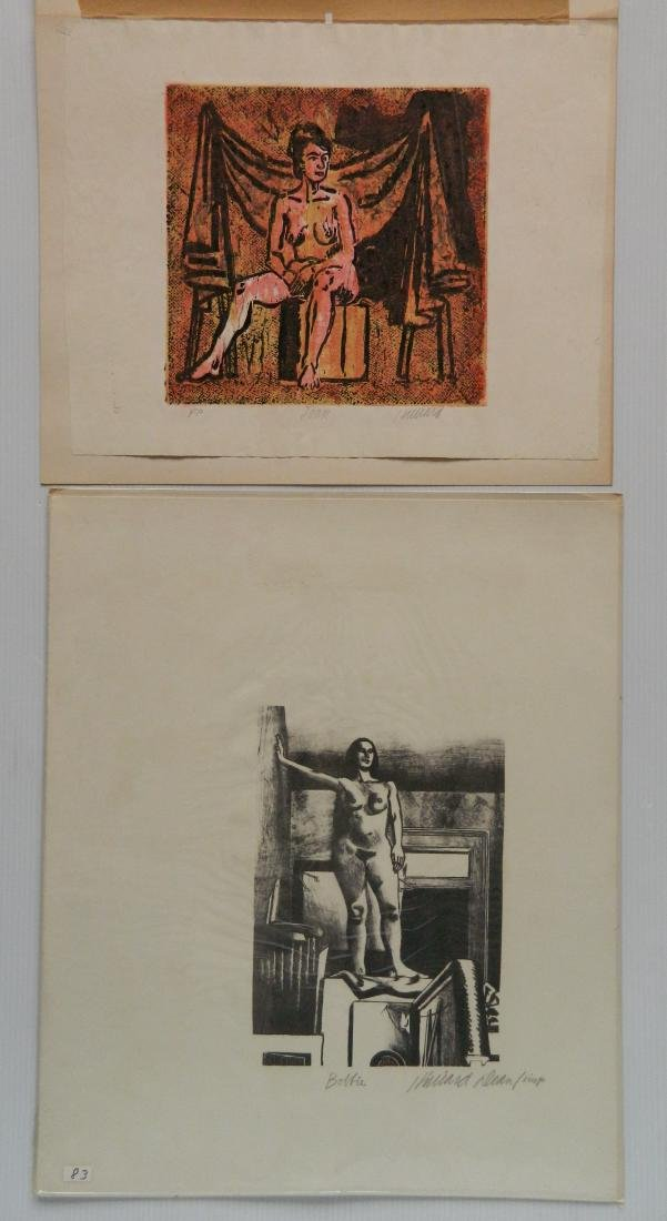 Hilliard Dean 4 lithographs and 2 woodcuts - 6