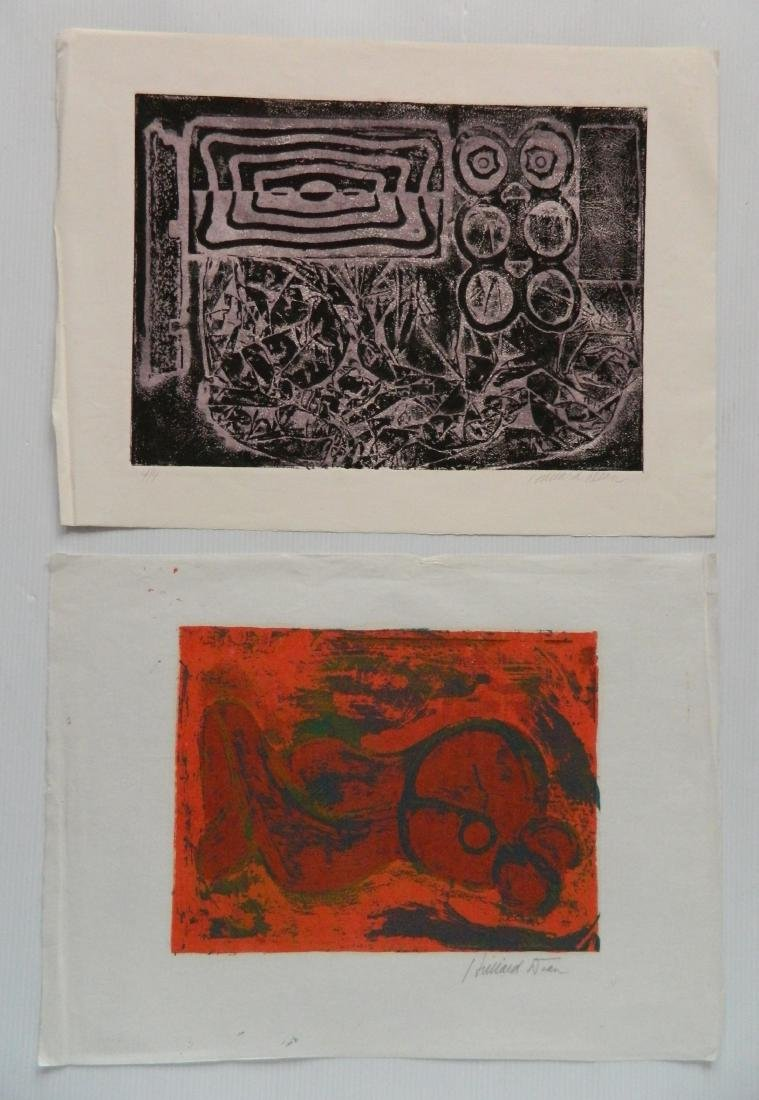Hilliard Dean 6 woodcuts - 3