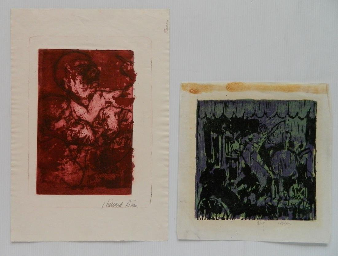 Hilliard Dean 6 woodcuts - 5