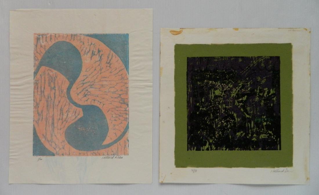 Hilliard Dean 6 woodcuts - 6