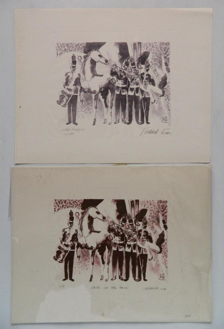 Hilliard Dean 4 lithographs and 3 etchings - 2