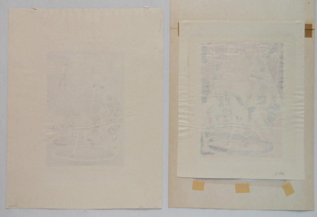 Hilliard Dean 4 lithographs and 3 etchings - 5