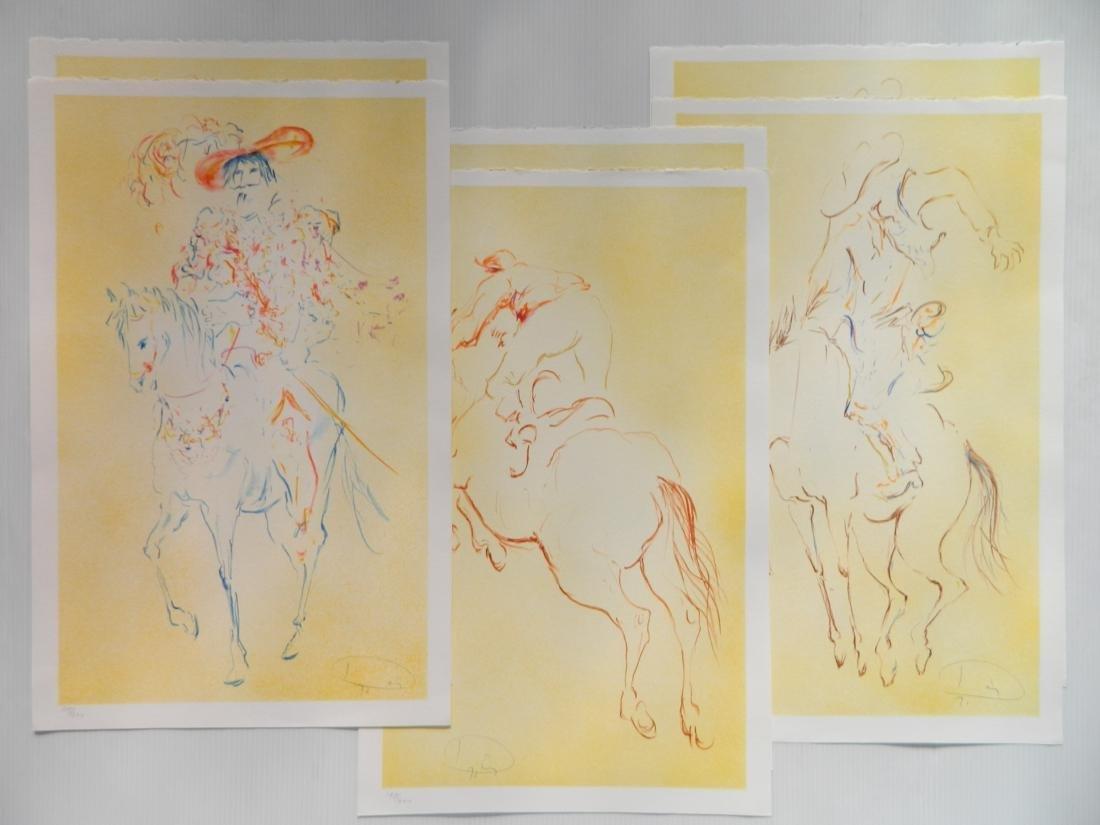 Laszlo Dus 6 lithographs