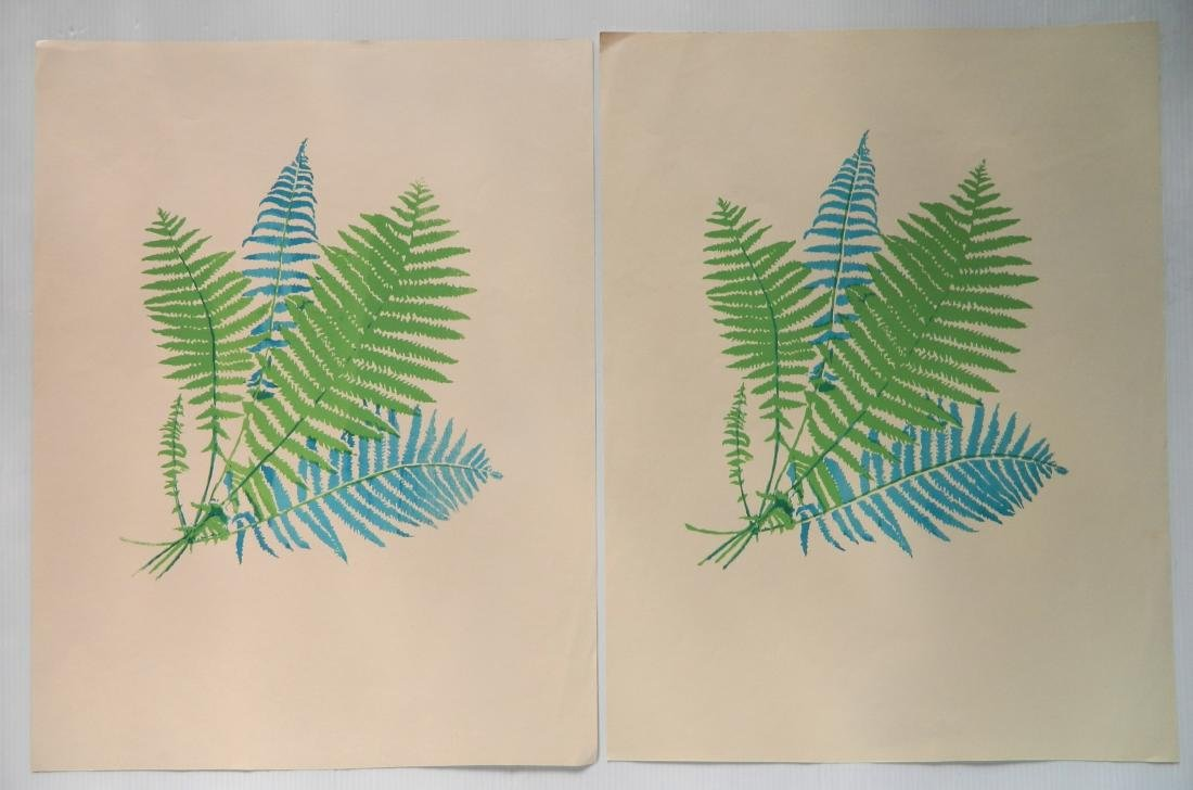 Laszlo Dus 2 silkscreens