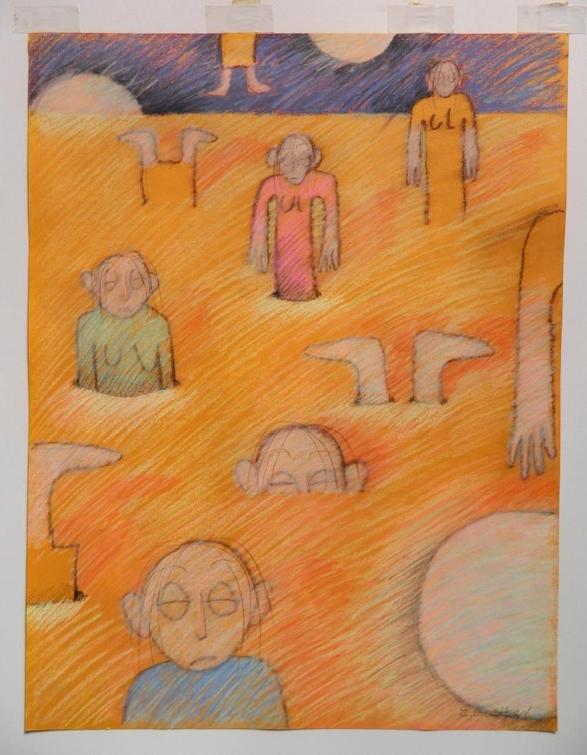 E. Goshorn chalk pastel - 2