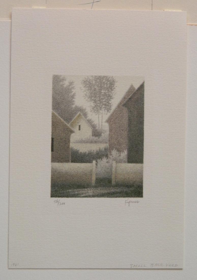 Robert Kipniss lithograph - 2