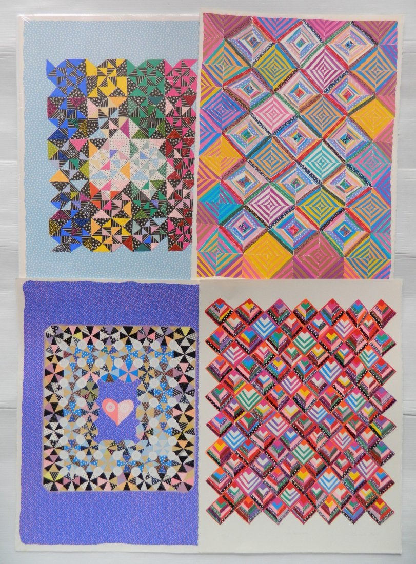 Barbara Kohl 4 lithographs