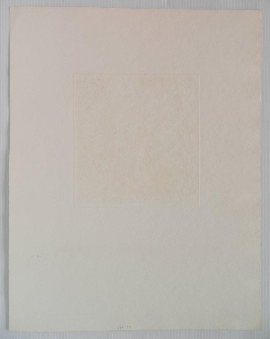 Bela Kondor etching - 4