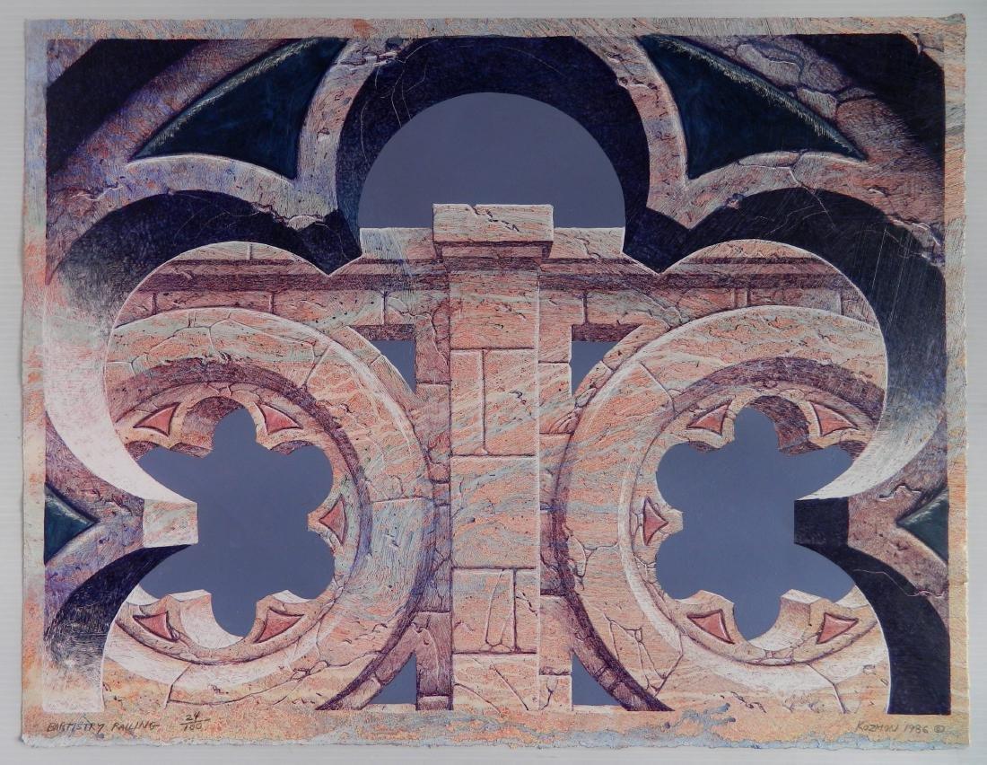 George Kozmon lithograph - 2