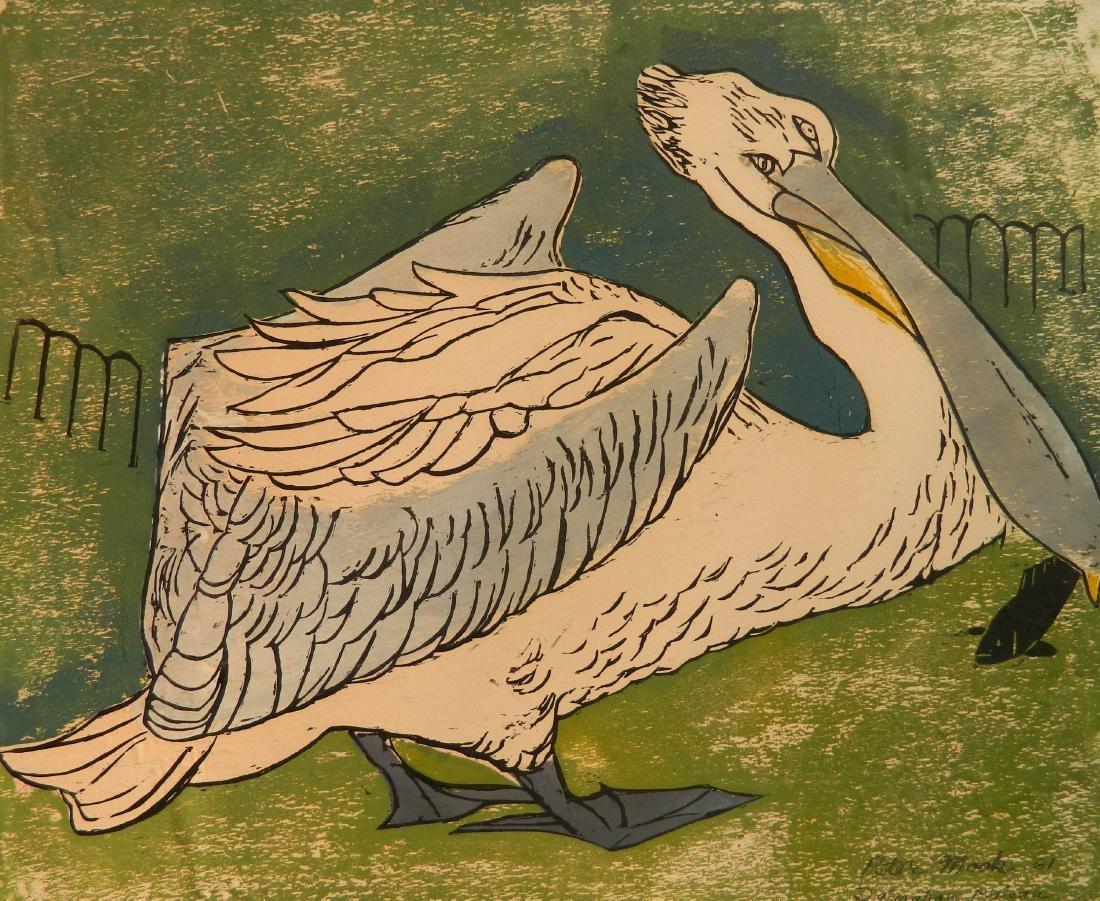 Peter Mosk woodcut