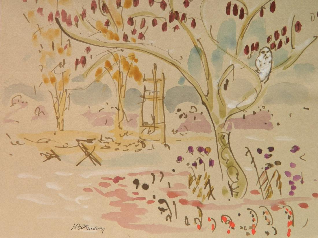 Joseph B. O'Sickey watercolor