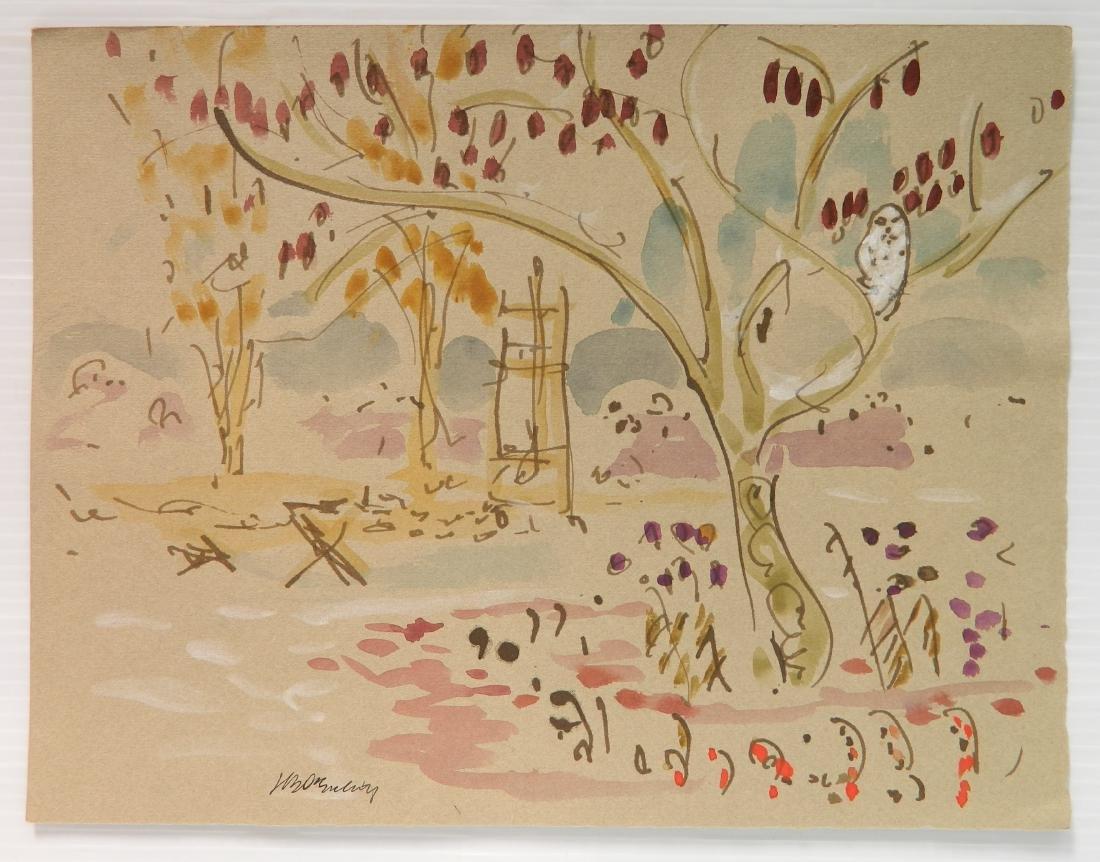 Joseph B. O'Sickey watercolor - 2