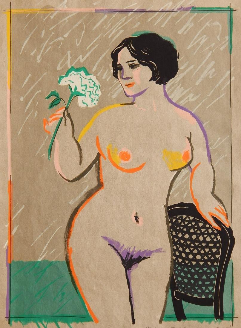 Mayumi Oda silkscreen