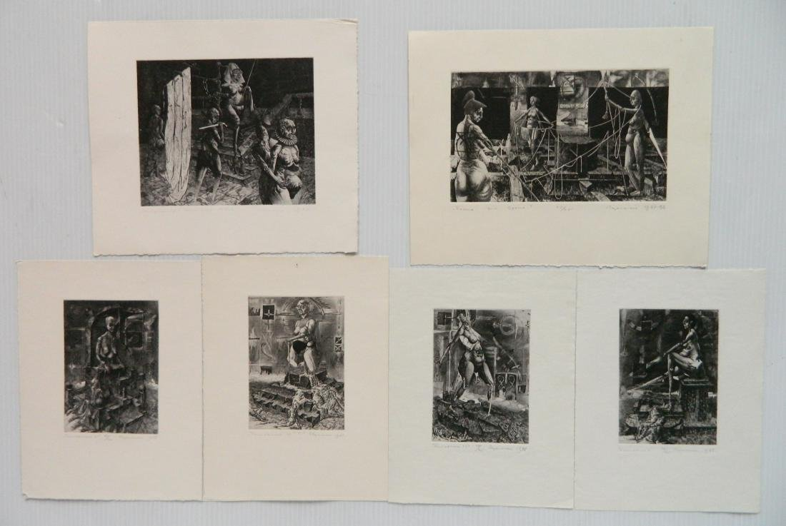 Ihor Podolchak 6 etching and aquatint