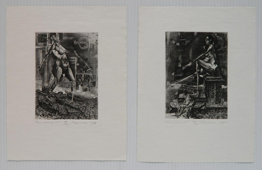 Ihor Podolchak 6 etching and aquatint - 3