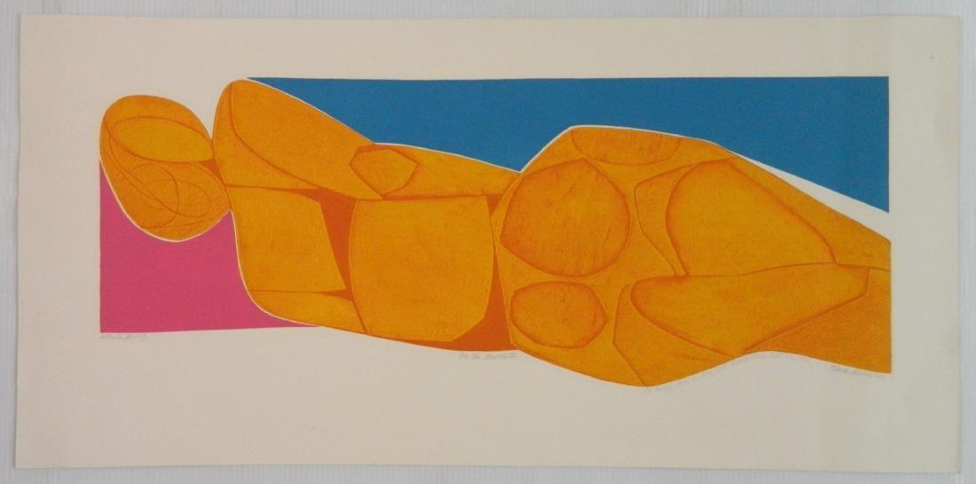 Clare Romano etching - 2