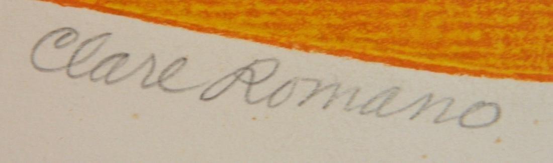 Clare Romano etching - 3