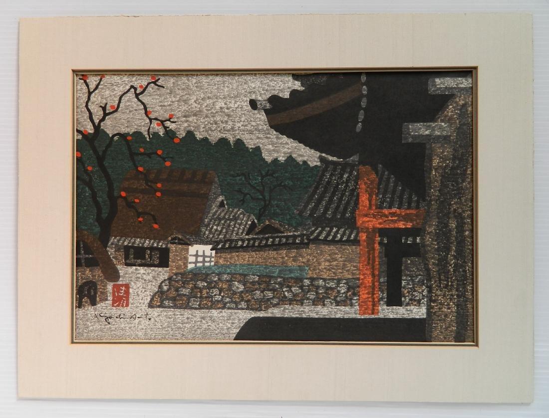 Kiyoshi Saito woodblock - 2