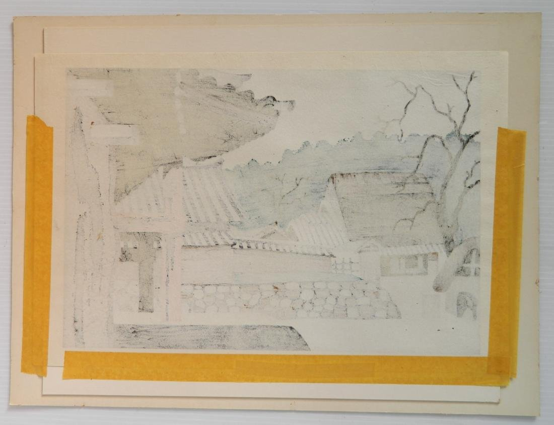 Kiyoshi Saito woodblock - 4