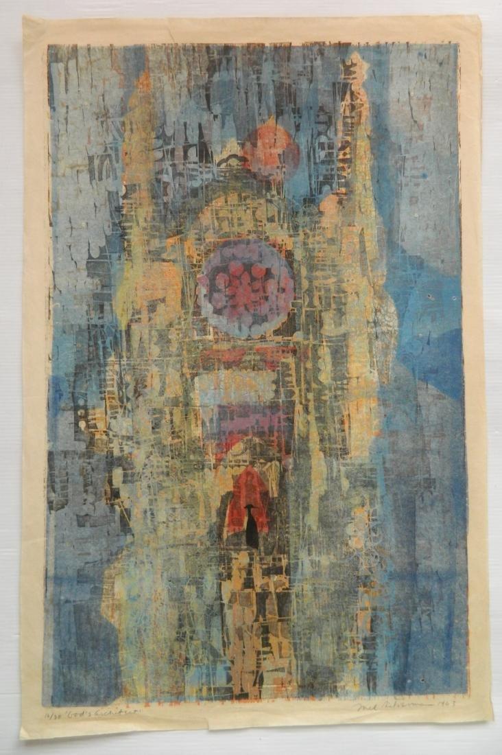 2 Mel Silverman woodcuts