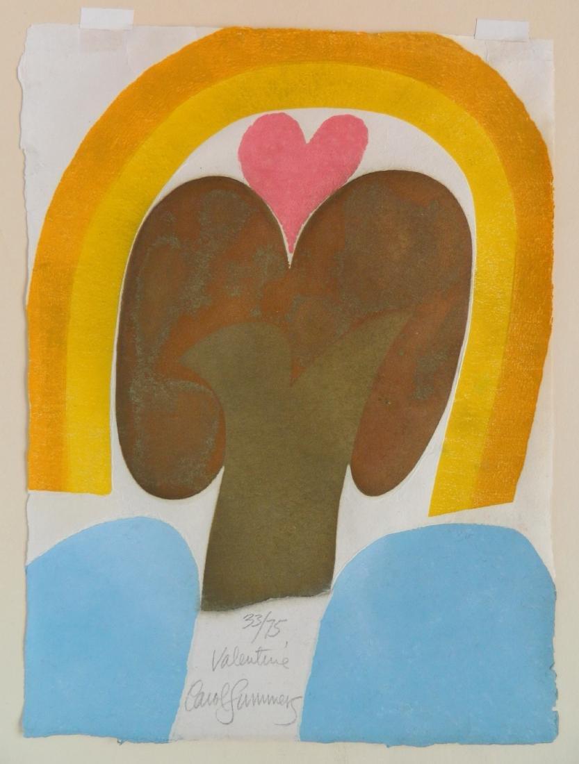 Carol Summers woodcut - 2