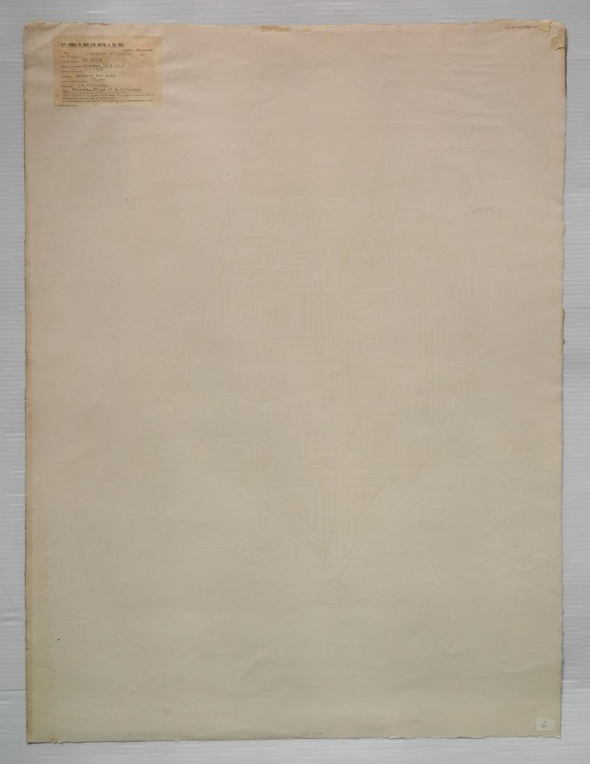 Stanislaw Wojtowicz woodcut - 4